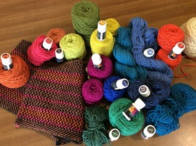 Yarns and dyes